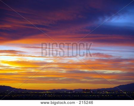 Sunset In Henderson, Nevada