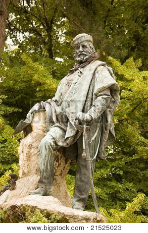 Giuseppe Garibaldi Statue, Venice