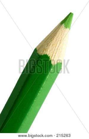 Green Pencil Tip