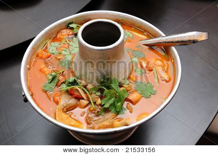 Thai food - tomyam