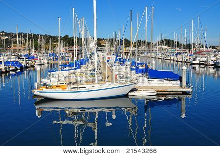 The Marina of Monterey California