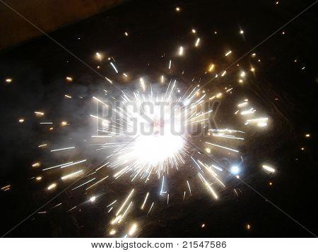 Indian crackers festival diwali