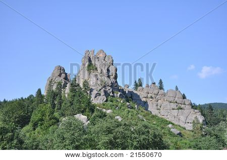 Tustan - Old Rock Fortress City