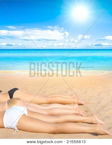 Girls Relaxation Sand