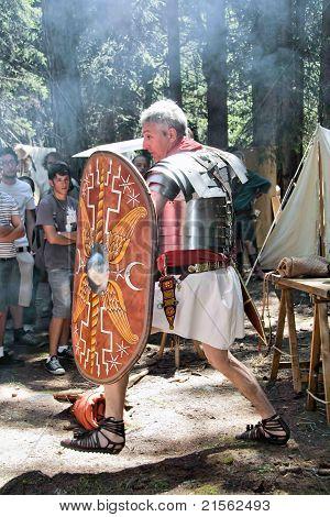 Roman Soldier Attack