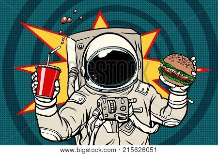 Astronaut with a