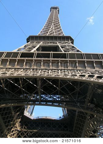 Perspective Of Eiffel Tower