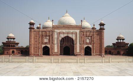 Jam'At Khanah At Taj Mahal, Agra