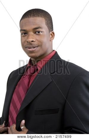 African American Male Model