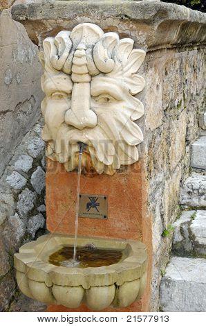 Public fountain in Palma