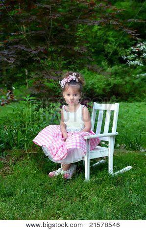 Beautiful Child On Beautiful Morning