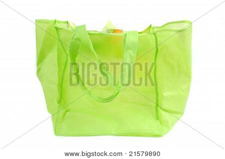 A Green Cotton Bag