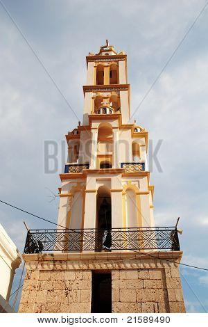 Agios Nikolaos bell tower, Halki