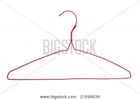 Red Clothes Hanger
