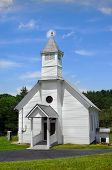 stock photo of 1700s  - This Tennessee country church was established in 1795 - JPG