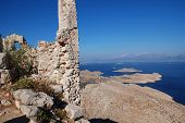 Crusader knights castle, Halki