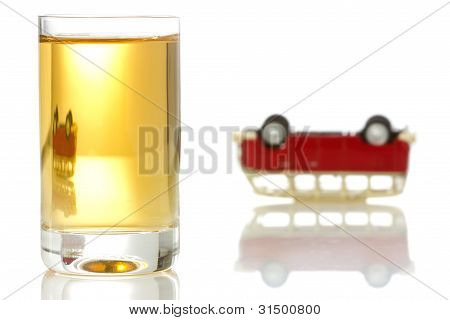 Concept For Drinking And Driving