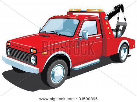 Tow truck, my car design.