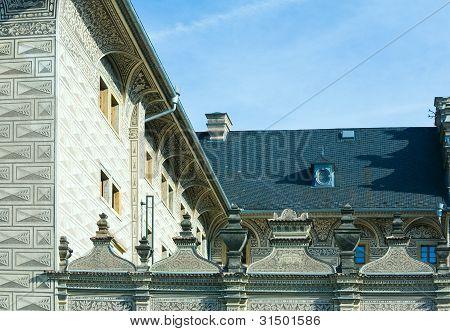 Schwarzenberg Palace Fragment,Prague, Czech Republic