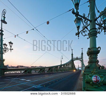 Budapest Evening View