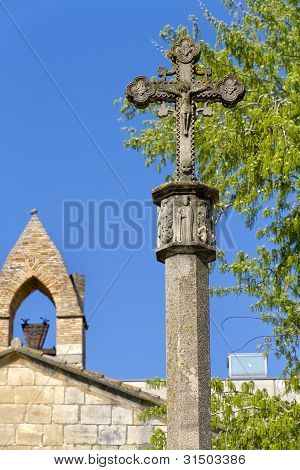 Monastery Of Santa Maria De Poblet Cross