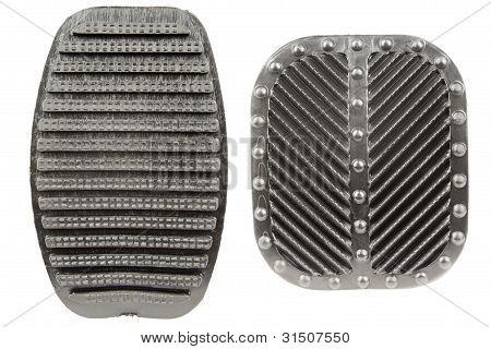 Anti Slip Rubber Clutch And Brake Pedals