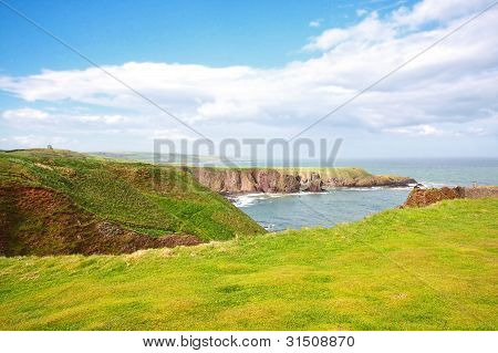 Beautiful Scottish landscape, Aberdeenshire, Scotland