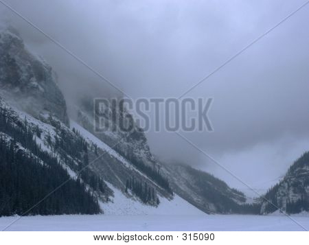 Lake Louise Snow Storm