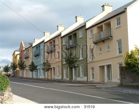 Modern Rowhouses In Ireland