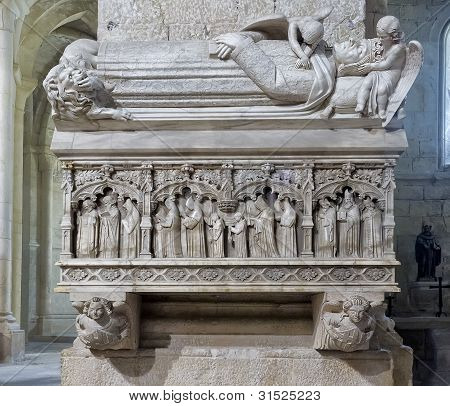 Monastery Of Santa Maria De Poblet Royal Tomb