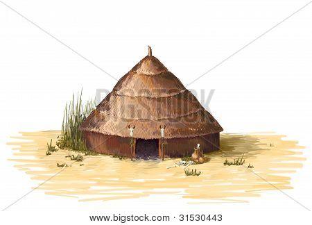 shaman's cabin