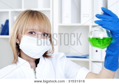 portrait of chemist