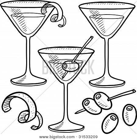 Martini sketches