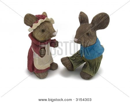Mr And Mrs Rabbit