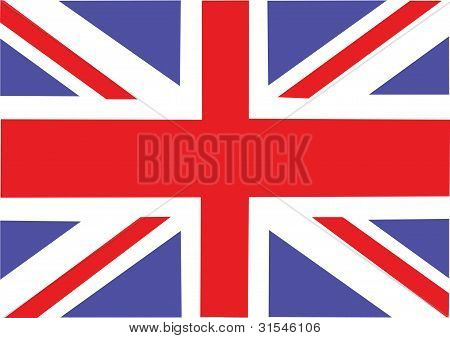 Vector Great Britain flag