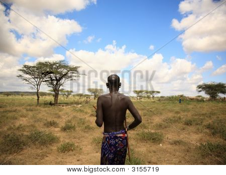 The Chief Of Samburu Village