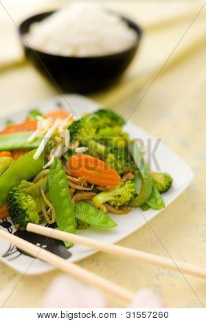 Stir Fry Vegetable
