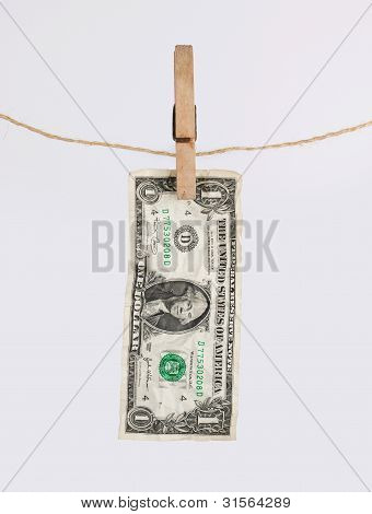 The Dollar Bill Is Dried