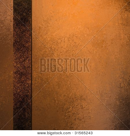 Copper Orange Background