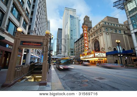 Chicago theater.