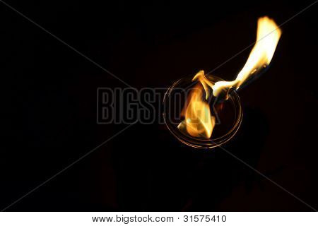 tragbare Feuer