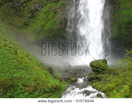 Multnomah Lower Falls