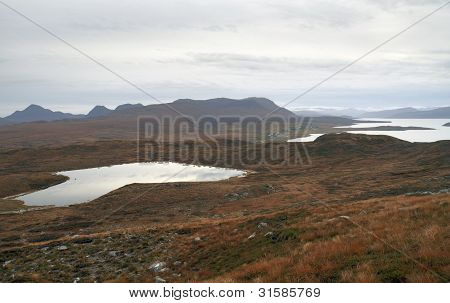 Lakes And Hills In Scotland