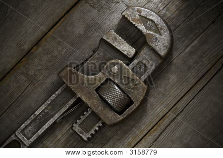 Old Wrench Angled