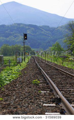 Rail And Fresh Green