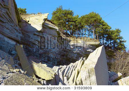 Limestone Cliff
