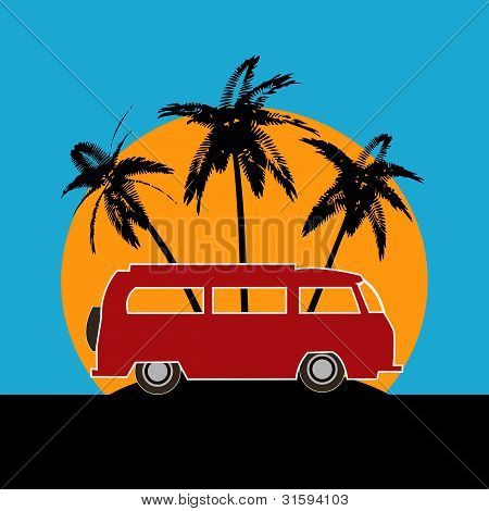 Tropical Camper Van