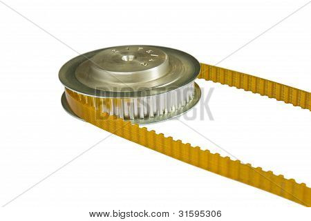 Pu Timing Belt And Pulley