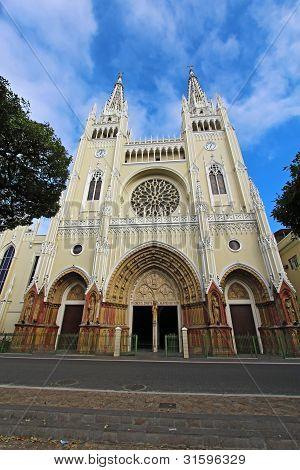Cathedral In Guayaqui, Ecuador