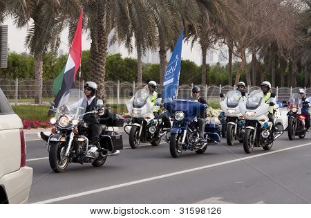 Bikers At Peace March